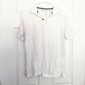 Banana Republic Vintage Polo Shirt - White